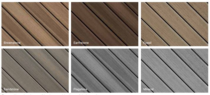 Fiberon Paramount Deck Colors