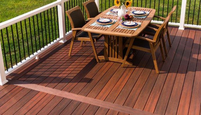 Horizon symmetry decking biewer lumber for Fiberon horizon ipe decking